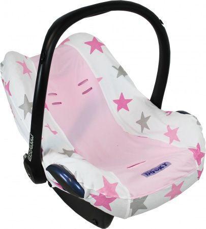 Dooky Star Autostoelhoes Pink
