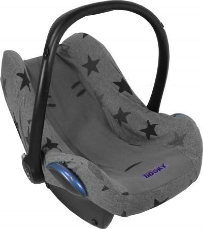 Image of Dooky Seat Cover Maxi Cosi Grey/Grey Stars 18806