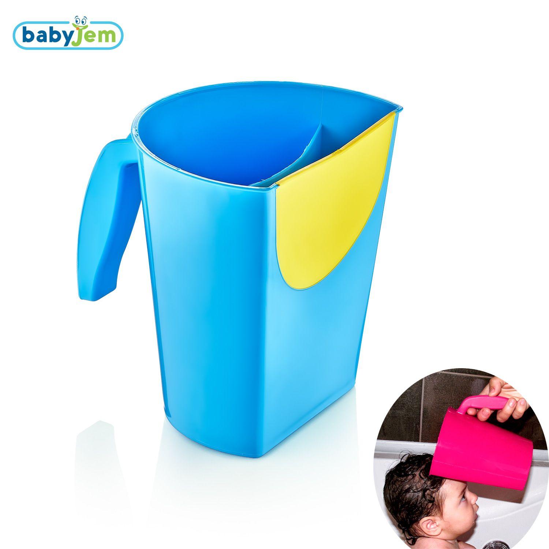 Image of Anti-knoei badschep | Baby Magic Cup Babyjem Blauw 24211