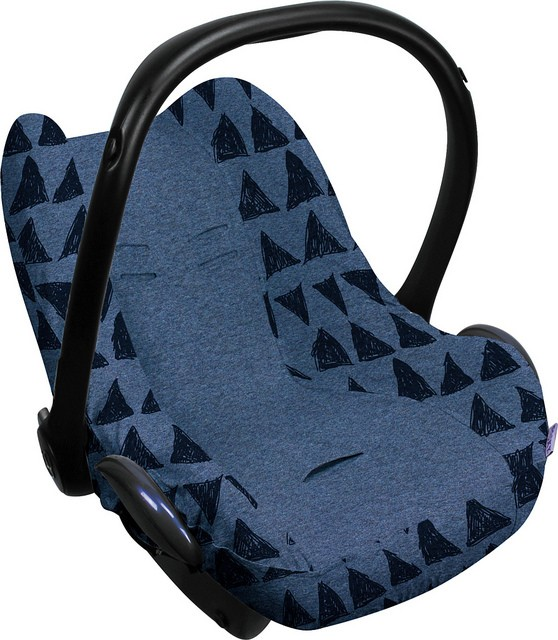 Image of Dooky Seat Cover 0+ Blue Tribal 37809