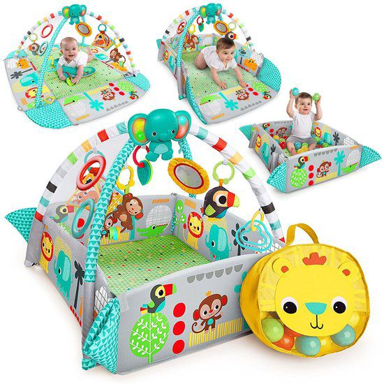 Image of Bright Starts Ball Play Activity Gym 5in1 22663