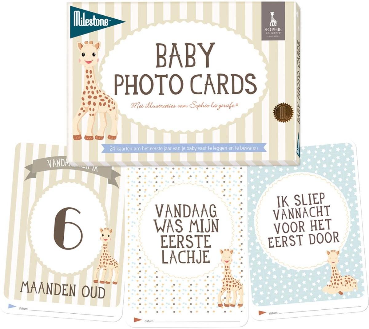 Image of Sophie de Giraf | Milestone Baby Photo Cards | Sophie la Girafe 28714