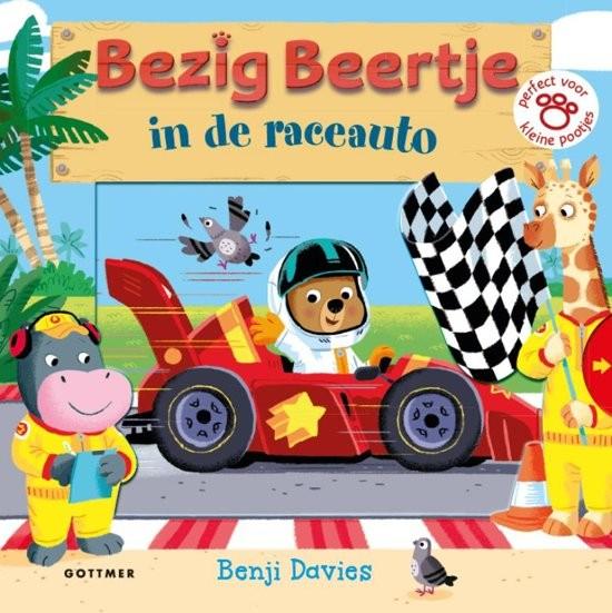 Image of Boek | Bezig Beertje in de Raceauto 37008