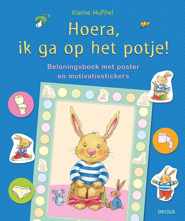 Image of Boek | Kleine Huppel - Hoera, ik ga op het potje! 33666