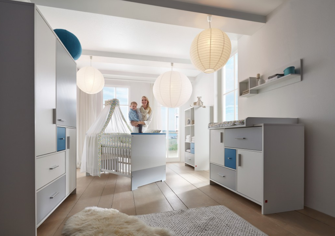 Babykamer Mandy Blue