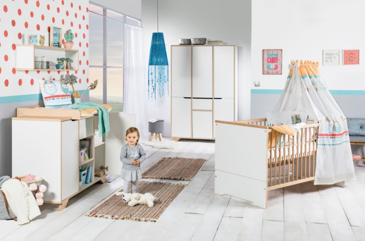 Babykamer Tokio Naturel-White