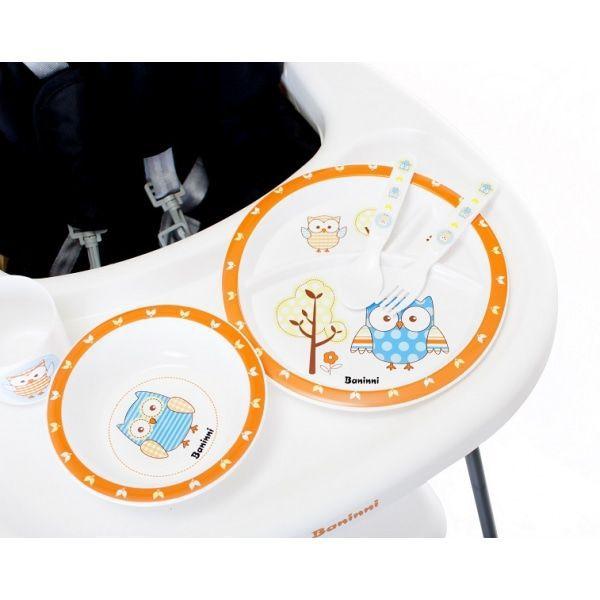 Image of Dinner Set 5-delig Owl 15357