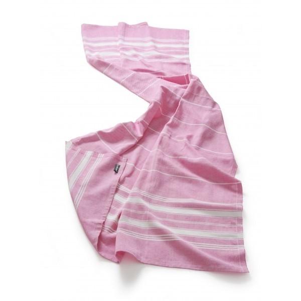 KipKep Blenker Hydrofiele Handdoek 170x100cm Roze