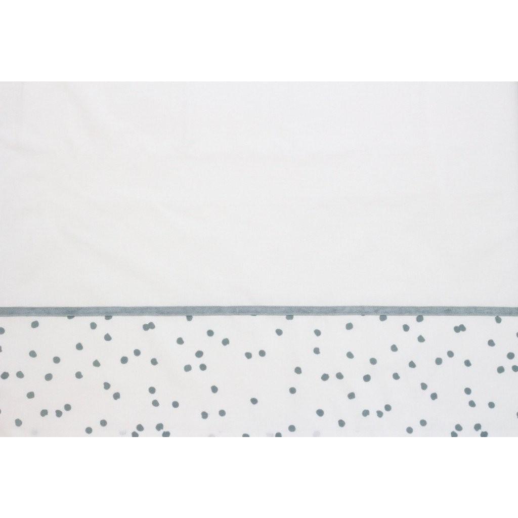 Laken wieg 75x100 Spots Stonegreen