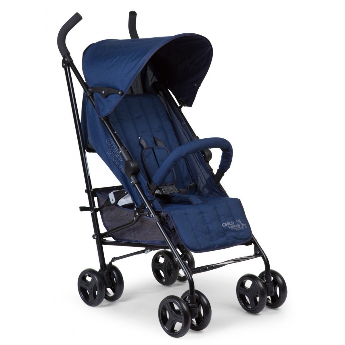 CHILDWHEELS Buggy Multi Pos RC LB FR canvas blauw CWB5CGR