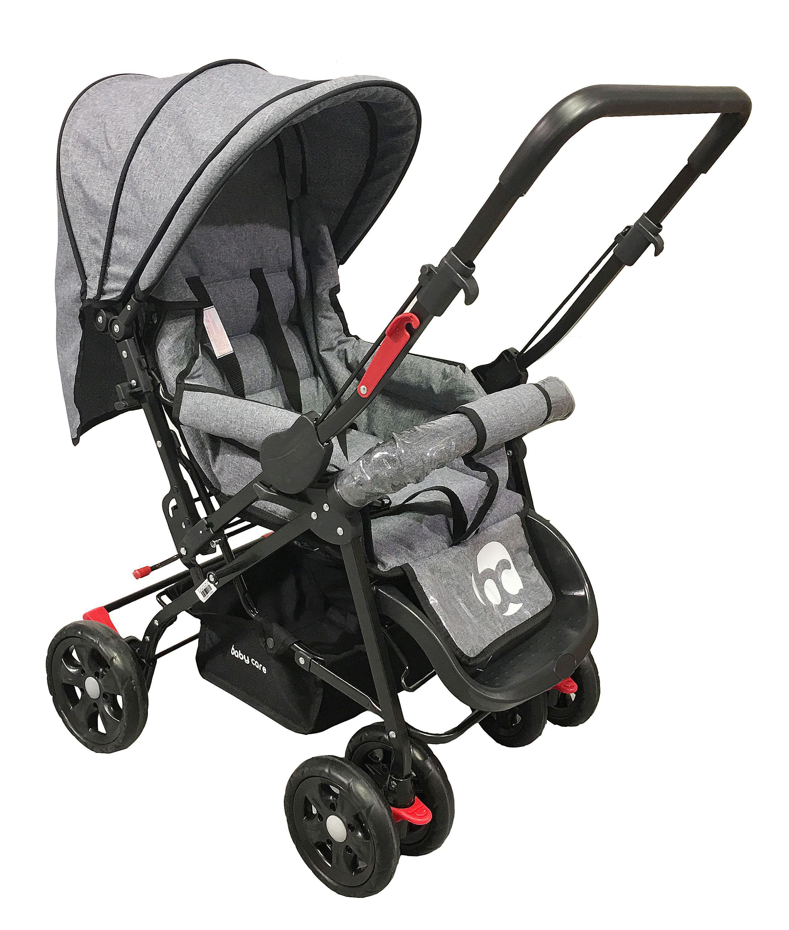 Image of Kinderwagen Babycare Snopy Grey Melange 23776