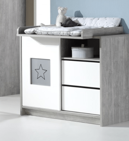 Image of Commode Ecoline Star Grey 26064