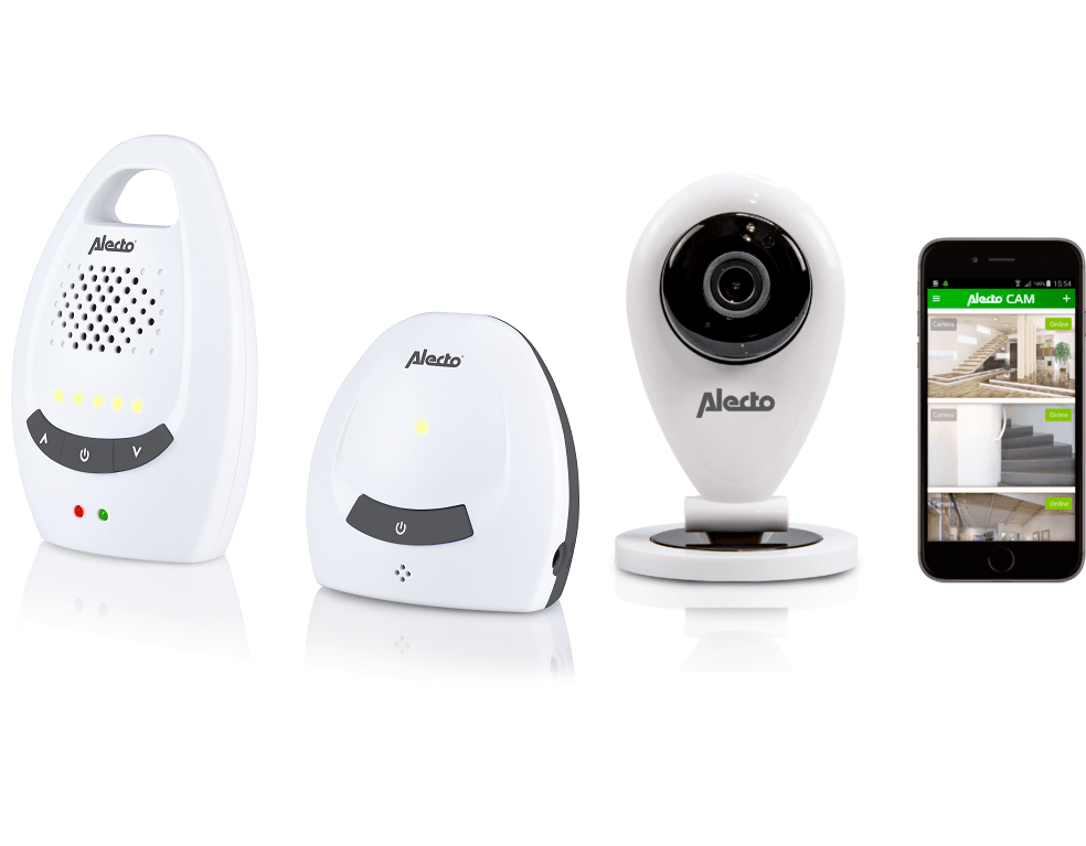 Image of Babyfoon Alecto DECT DIVM-105 + Wifi-camera 23626