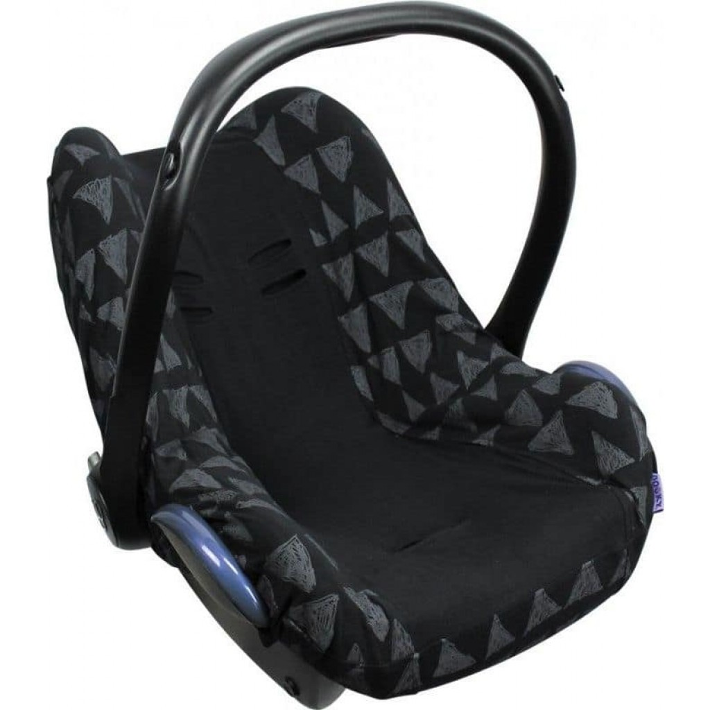 Dooky Seat Cover Maxi Cosi Black Tribal