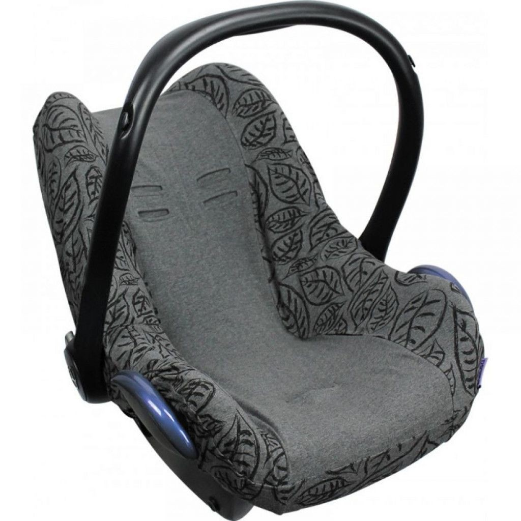 Dooky Seat Cover Maxi Cosi Grey Leaves