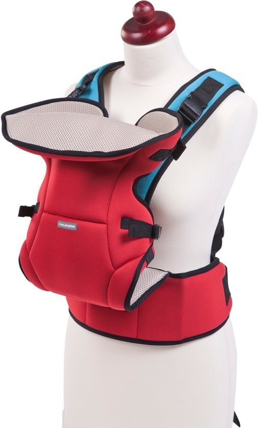 Image of Buikdrager Childhome Neoprene Red 35256