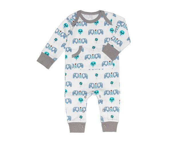 Image of Pyjama Elefant Blue 16249