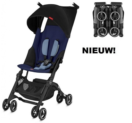 Buggy GB Pockit+ Sapphire Blue-Navy Blue