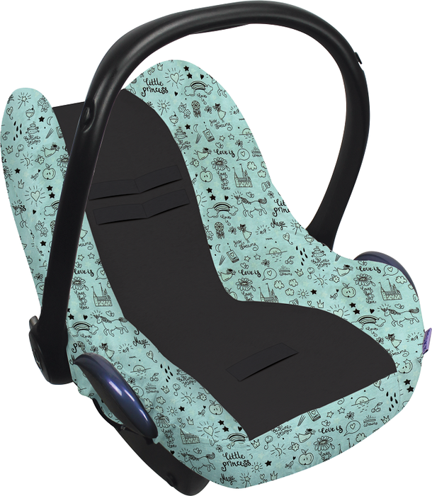 Image of Dooky Seat Cover 0+ Limited Little Princess Glow 32089