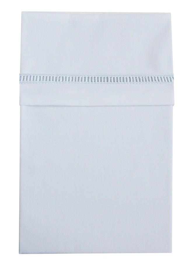 Image of Cottonbaby - Laken Ledikant - Ajourrand Wit Klassiek 26969