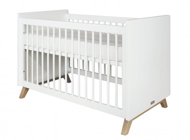 Bopita Bed 60X120 Lynn Wit-Naturel