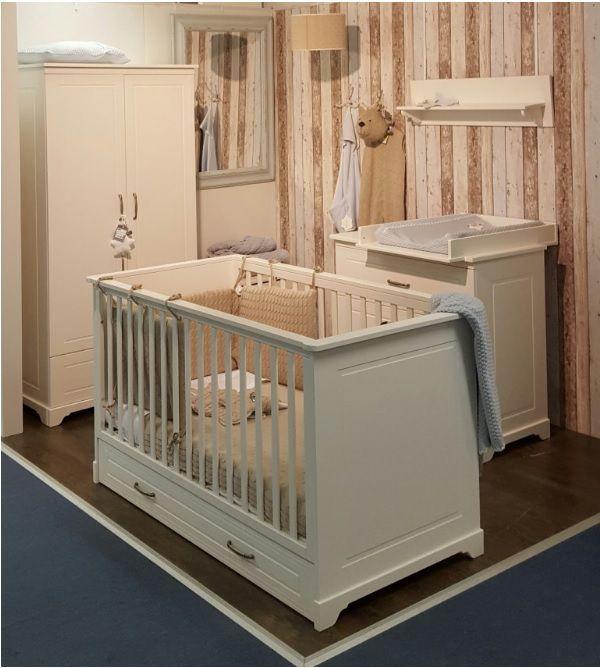 Babykamer Melody Ivory Ledikant + Commode