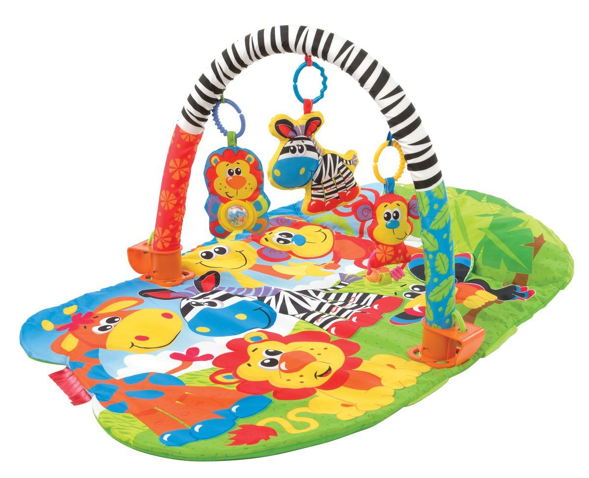 PLAYGRO 3 in 1 Safari speelkleed