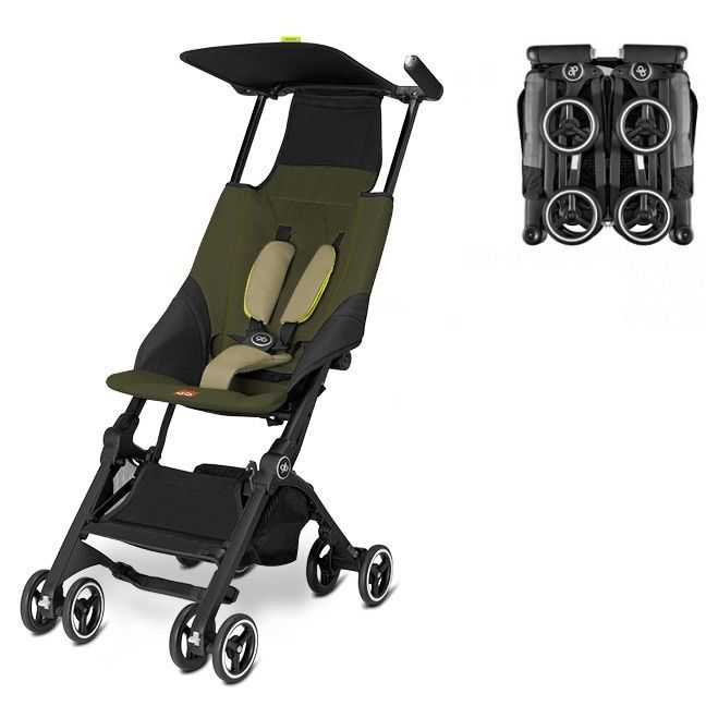 Buggy GB Pockit Lizard Khaki