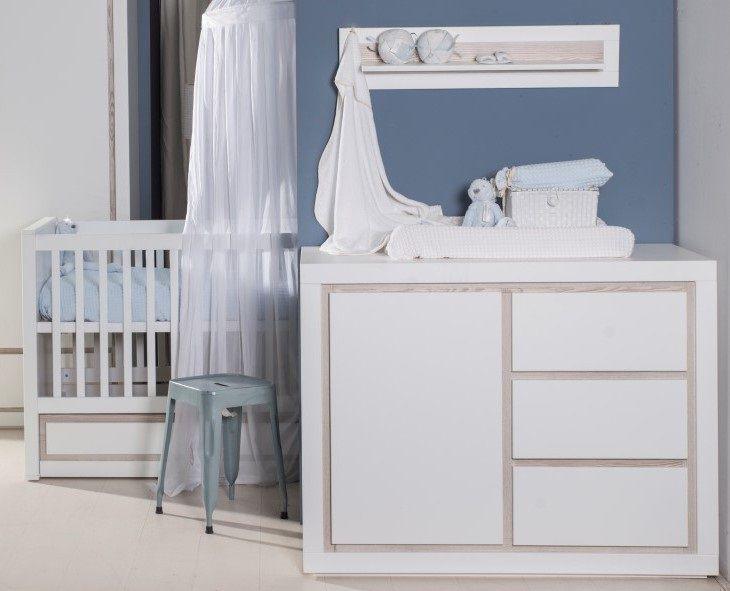 Babykamer Roby Ledikant + Commode