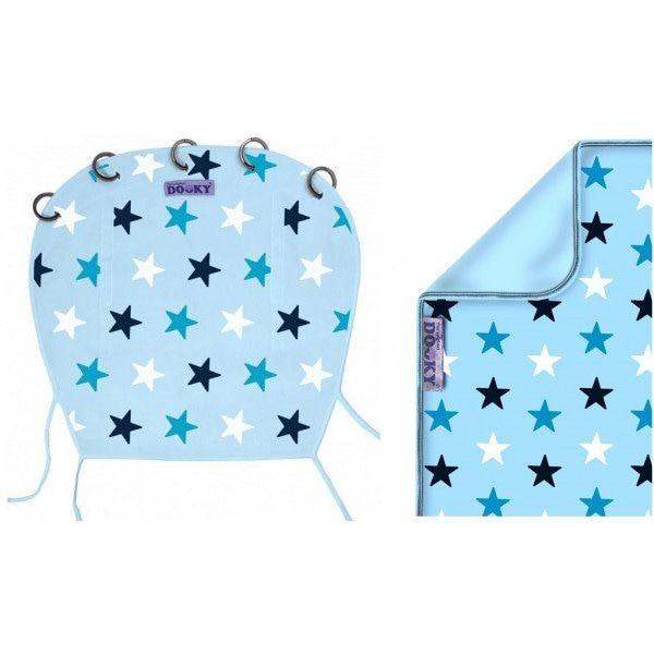 Image of Dooky Original Cover Design Blue Stars 13096