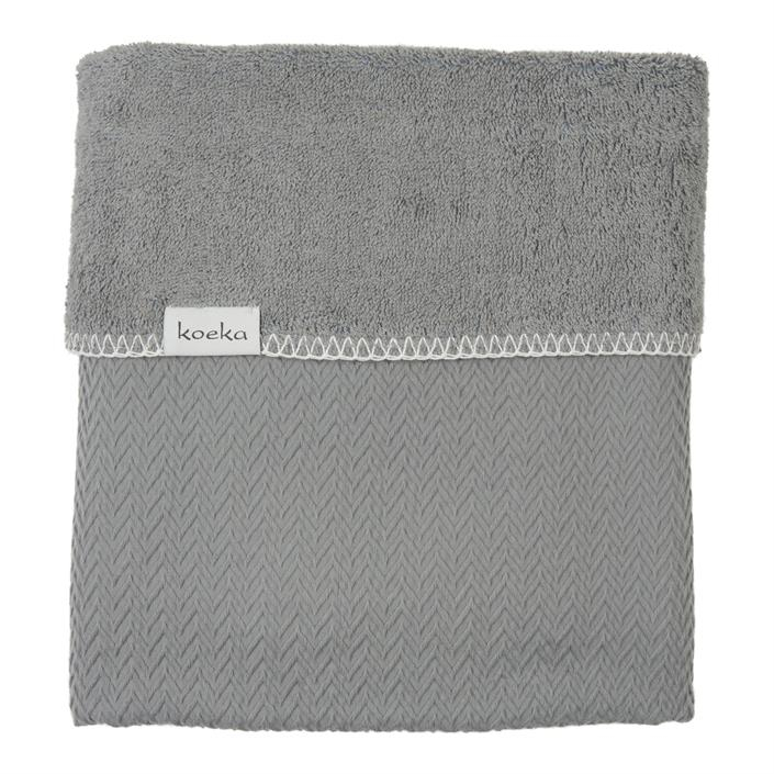 Deken Ledikant Koeka Stockholm Steel Grey