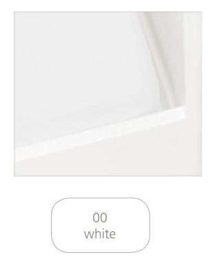 Hoeslaken Tricot Wieg 40 x 80 Wit wit
