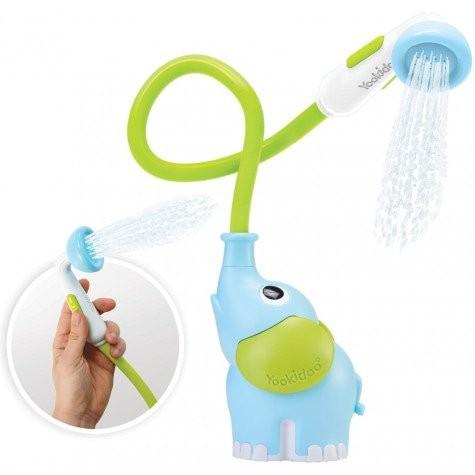 Image of Yookidoo Bath Elephant Baby Shower Blue 34261